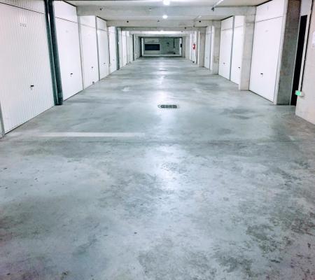 Remise en état, nettoyage de parkings en sous-sol