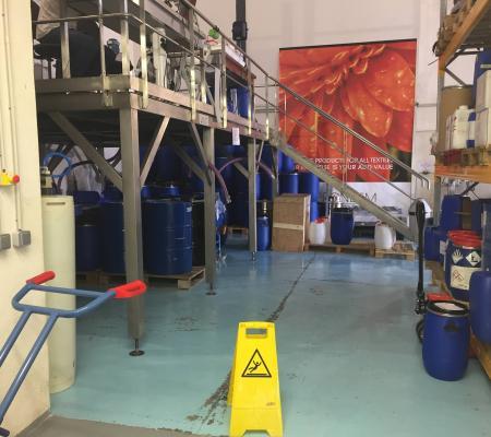 Nettoyage de sol industriel hangar à Marseille (13)