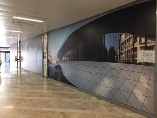 Retrait d'adhésifs publicitaires sur vitres à Marseille
