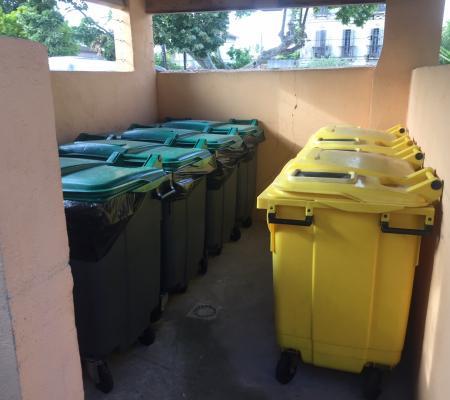 Désinfection containers / local poubelle pour une résidence de Marseille (13012)